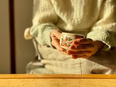 ゆっくりお茶を飲みながら世間話をする時が幸せ