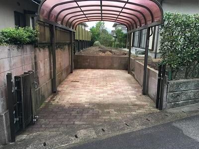 福岡市城南区の空き家の駐車場・庭を貸してください。