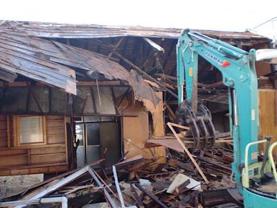 解体されてしまった空き家のご実家