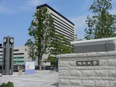 福岡大学キャンパスの風景
