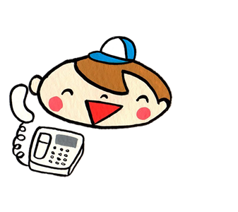便利屋なんでもお助け隊(福岡・春日店)のマスコットキャラ べんた君がご質問にお答えしています。